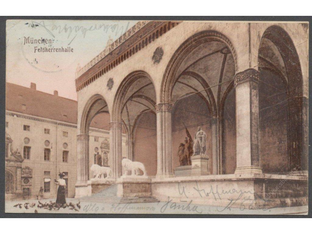 Germany, Munich, Commander hall, cca 1908