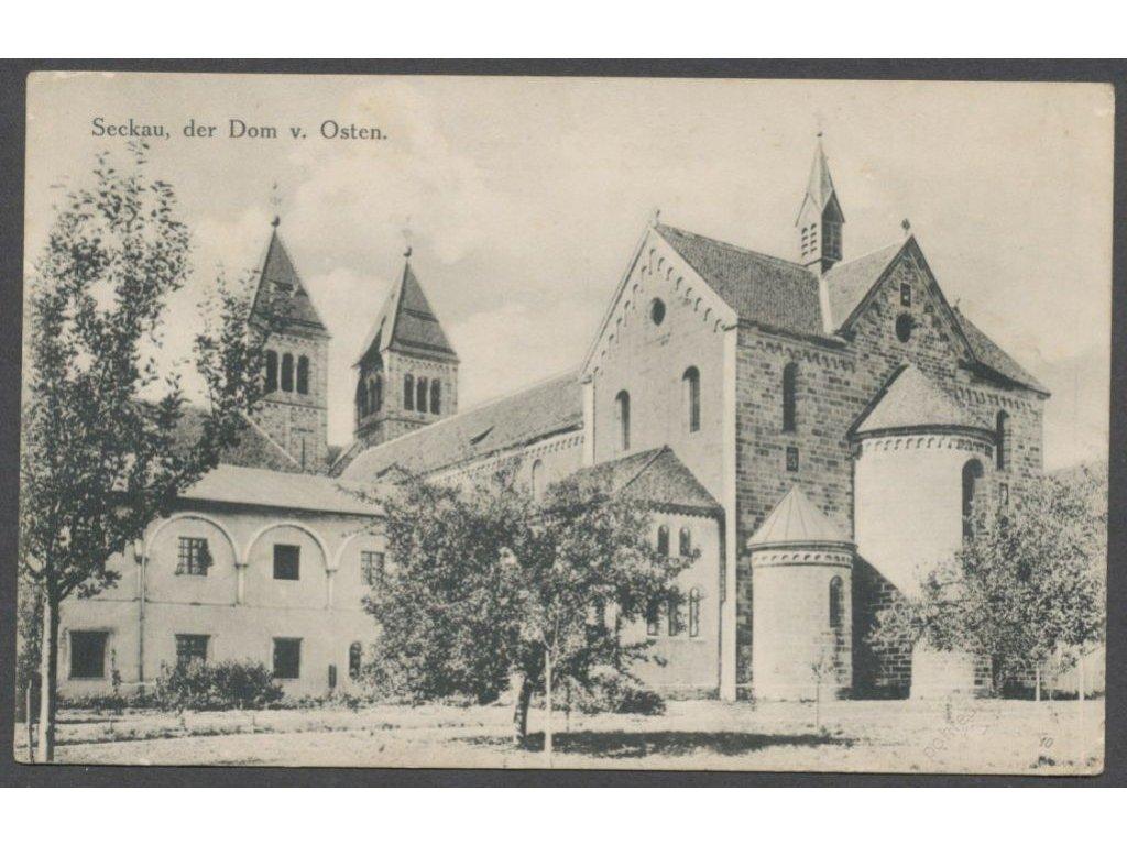 Austria, Styria, Seckau, cathedral, cca 1908