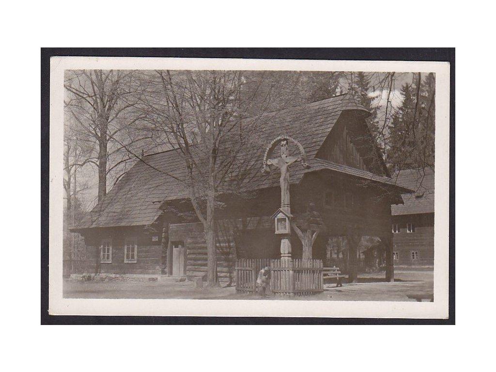 71- Vsetínsko, Rožnov, muzeum, Fototypia, ca 1930