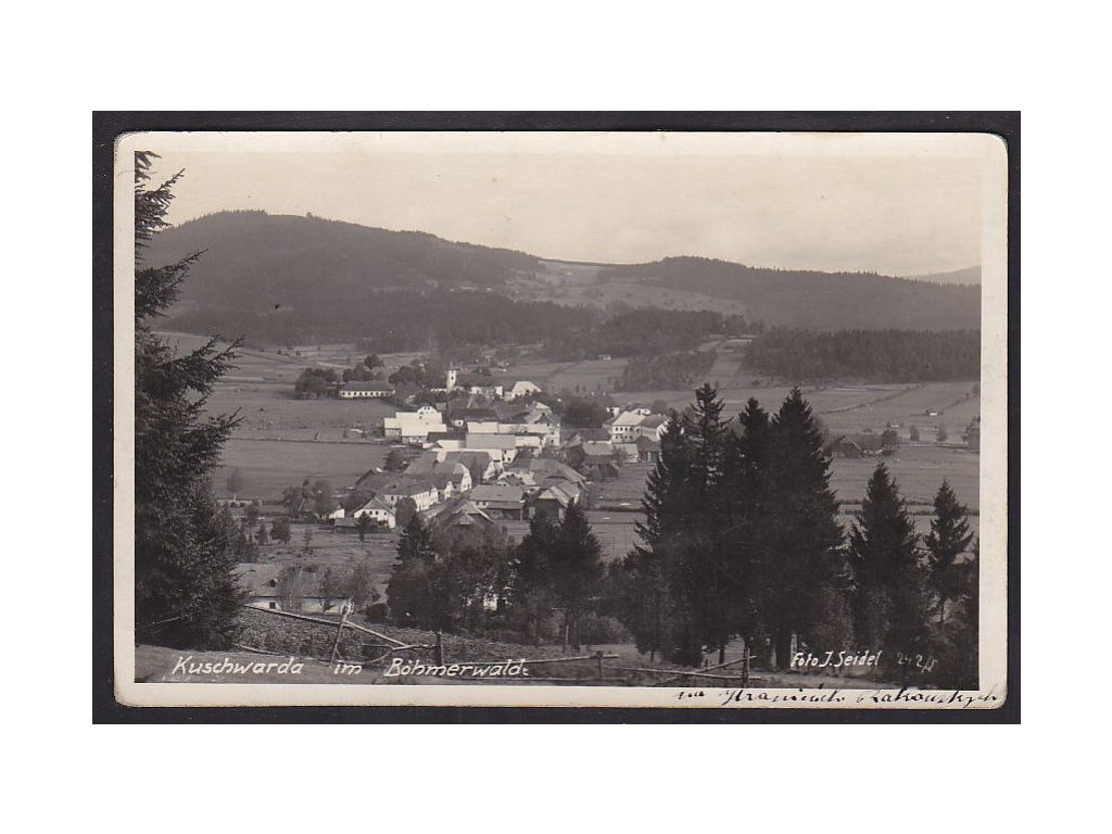 48- Prachaticko, Strážný, foto Seidel, ca 1925