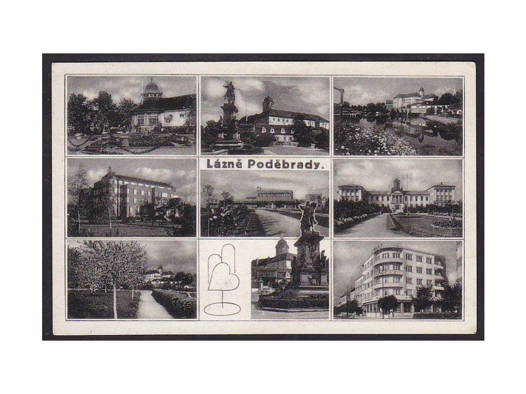 40- Nymbursko, Poděbrady, Grafo Čuda, ca 1939