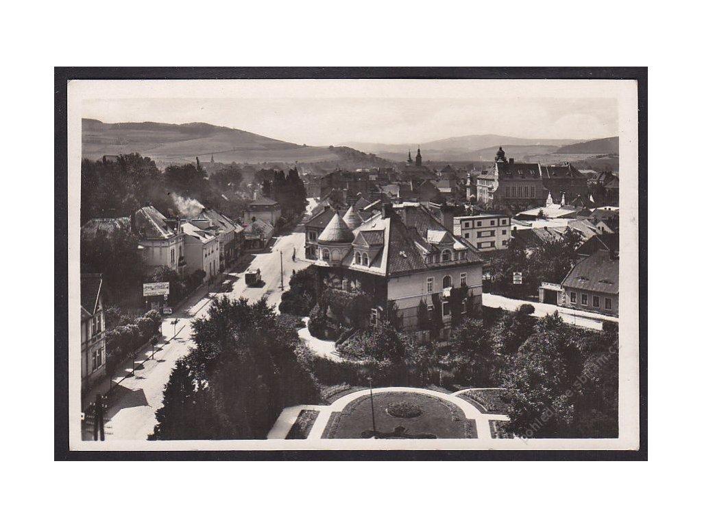 28- Klatovsko, Sušice, pohled ze sirkárny Solo, ca 1940