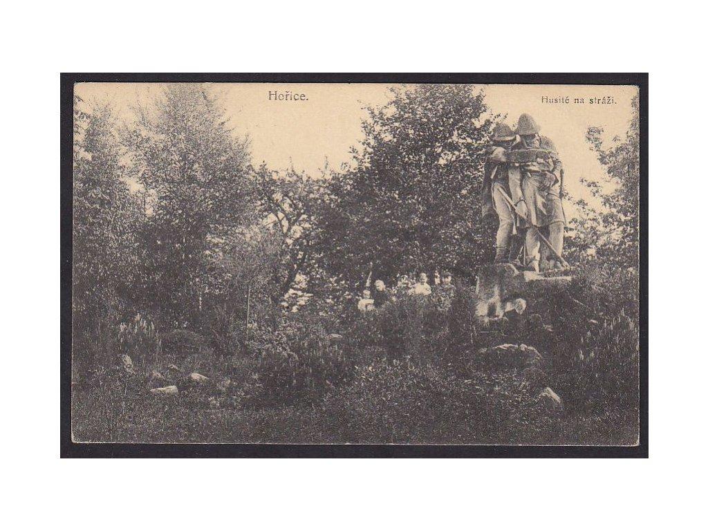 22-Jičínsko, Hořice v Podkrkonoší, pomník, ca 1920