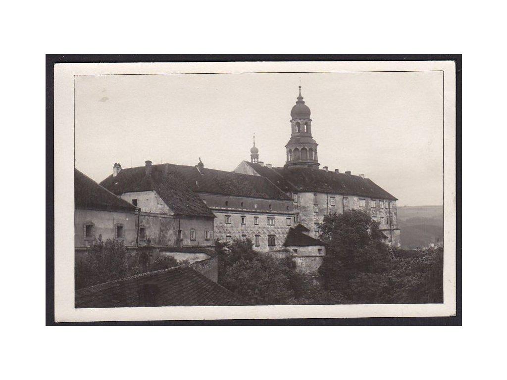 38- Náchod, zámek,  nakl.Šolc, ca 1935