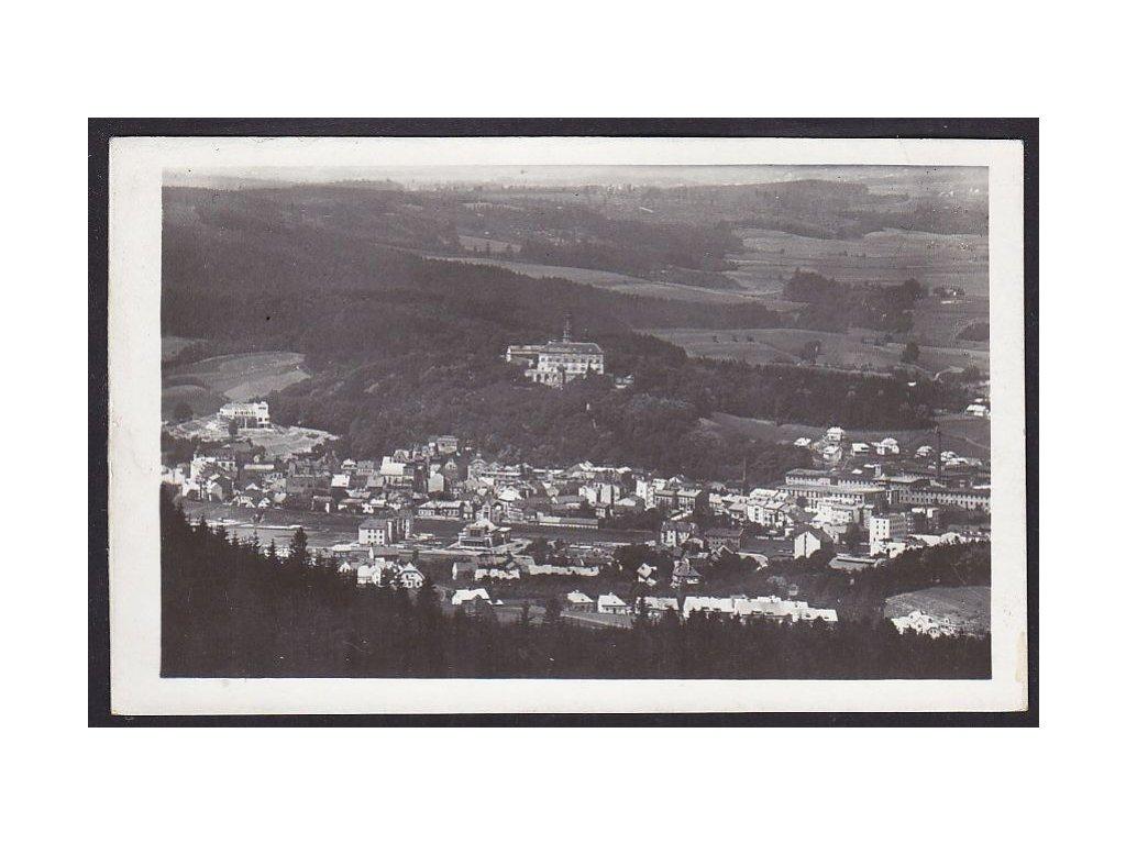 38- Náchod, pohled z Dobrošova, Grafo Čuda, ca1934