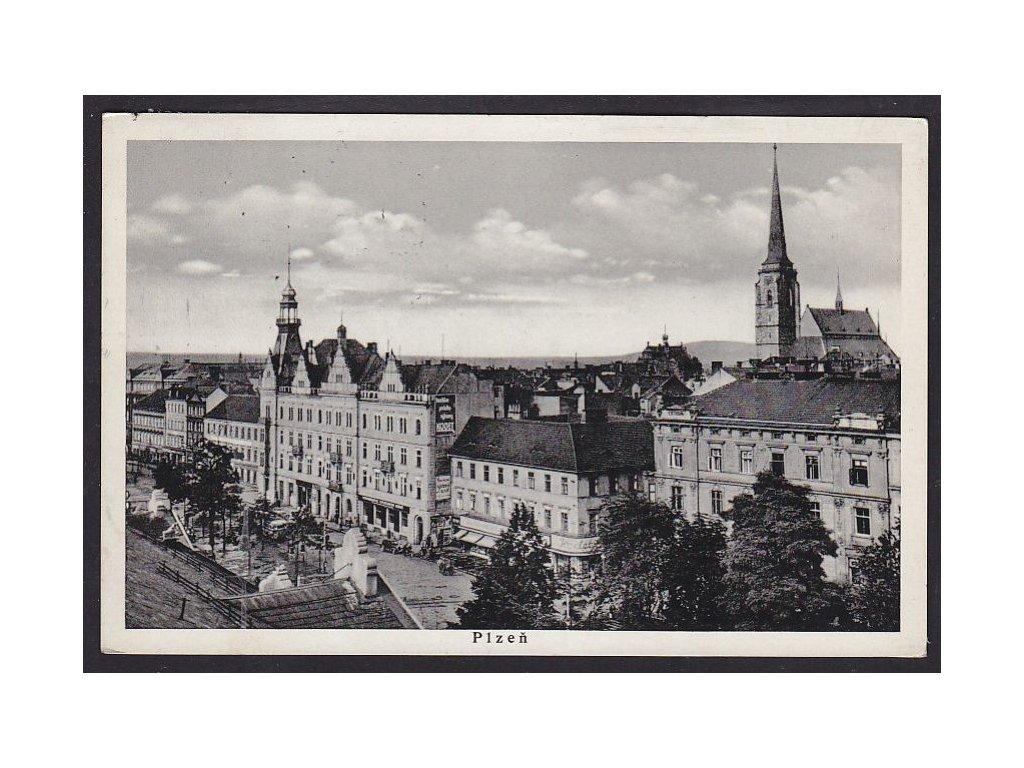 47- Plzeň, Sady Pětatřicátníků, ca 1935