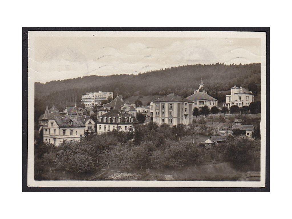 73- Zlínsko, Luhačovice, Pražská čtvrť, ca 1935