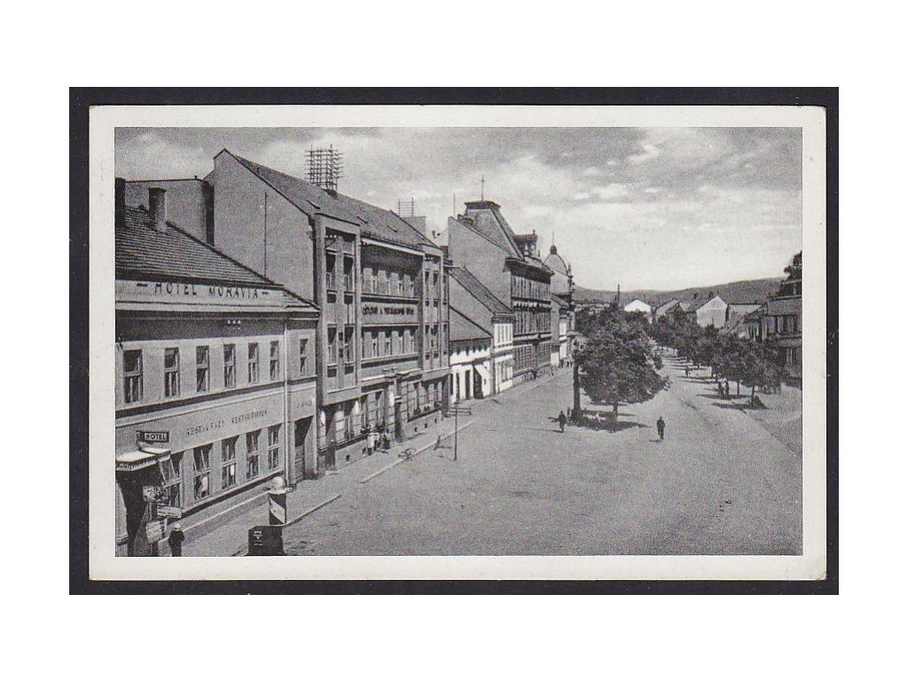 53- Přerovsko, Hranice n.M.Wilsonova třída, Grafo Čuda, ca 1938