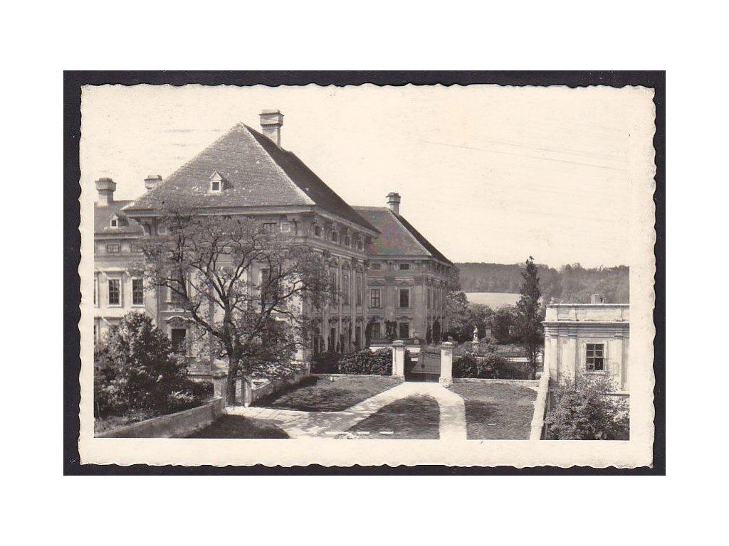 04- Brněnsko, Slavkov, zámek, Fototypia, ca 1930