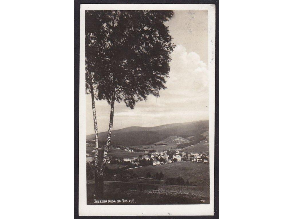 28- Šumava, Železná Ruda, Foto Fon, ca 1930