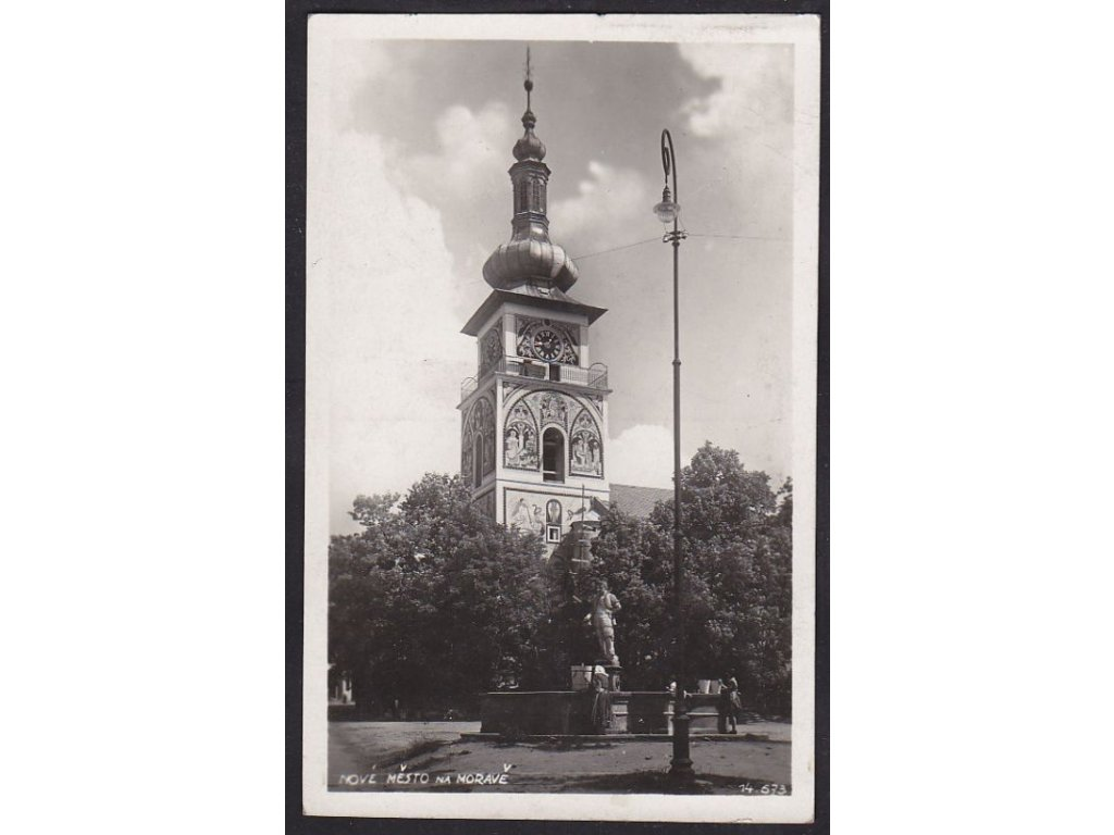75- Ždársko, Nové Město na Moravě, Bromografia, ca 1930