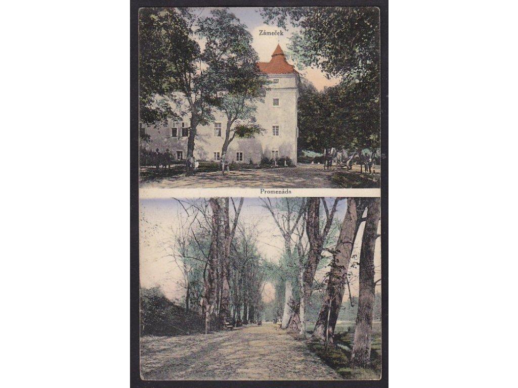 27-Kladensko, Šternberk (Ledce), Belevue, ca 1910