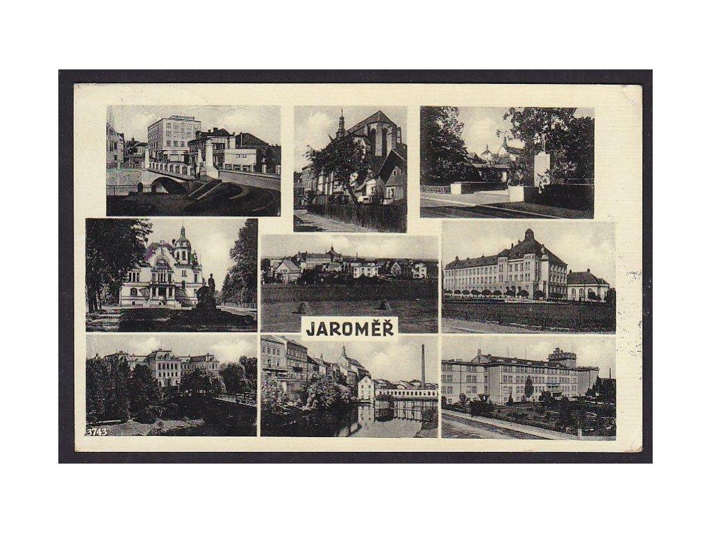 38- Náchodsko, Jaroměř, ca 1936
