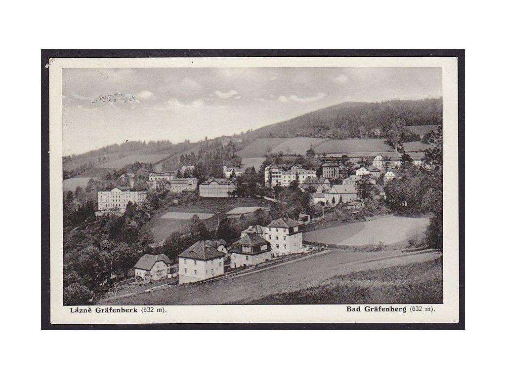21- Jeseník (Gräfenberg), celkový pohled, ca 1938