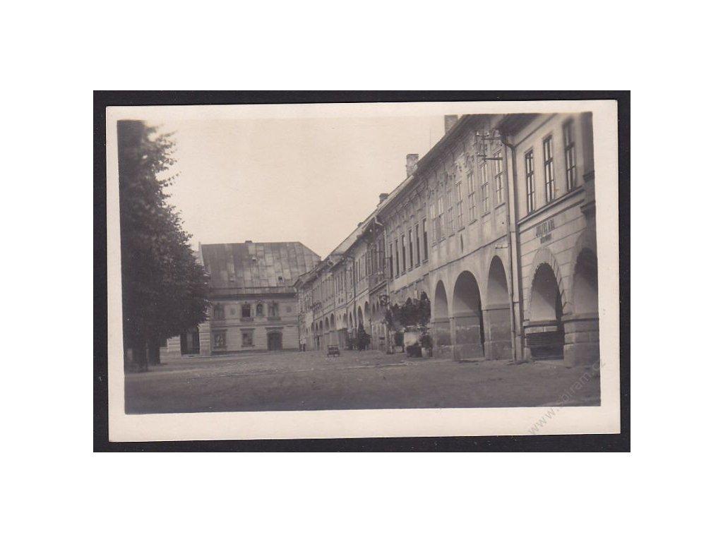 70 - Ústeckoorlicko, Kyšperk, náměstí, cca 1930