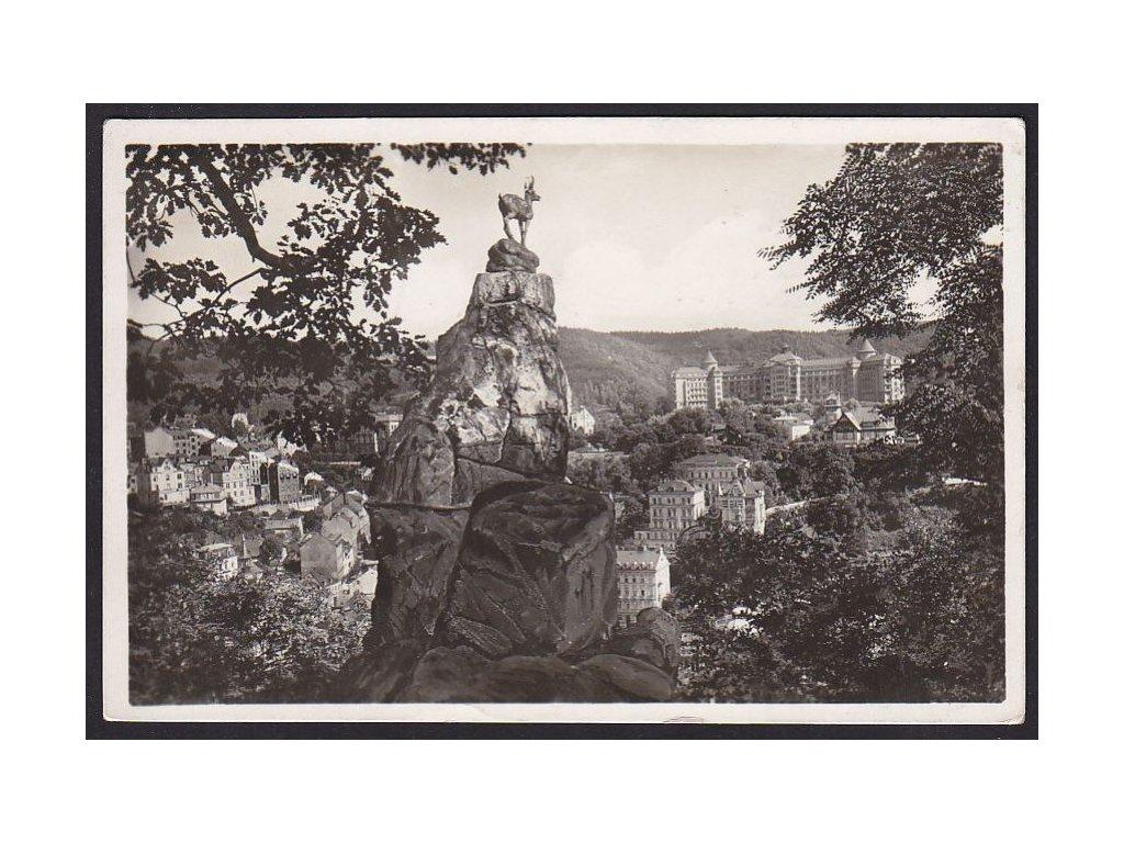 25- Karlovy Vary, Jelení skok, L.W.K., ca 1938