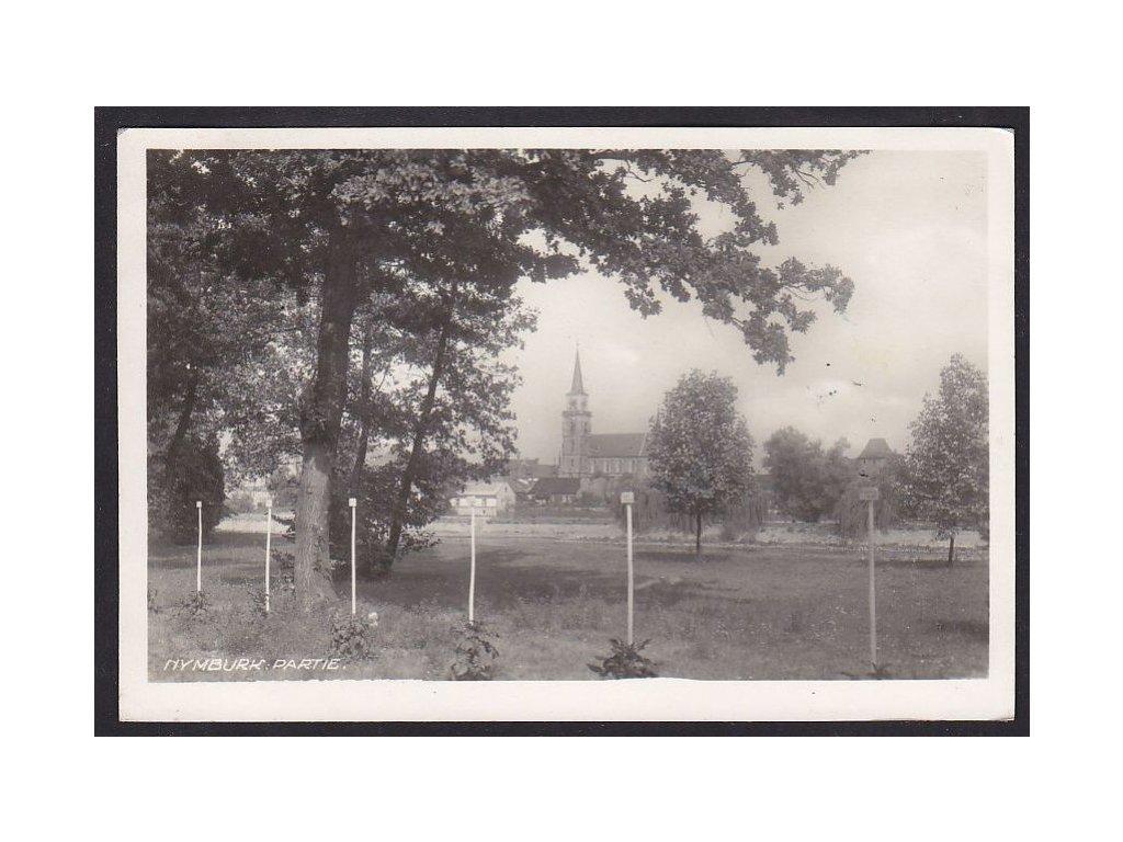 40- Nymburk, kostel, ca 1940