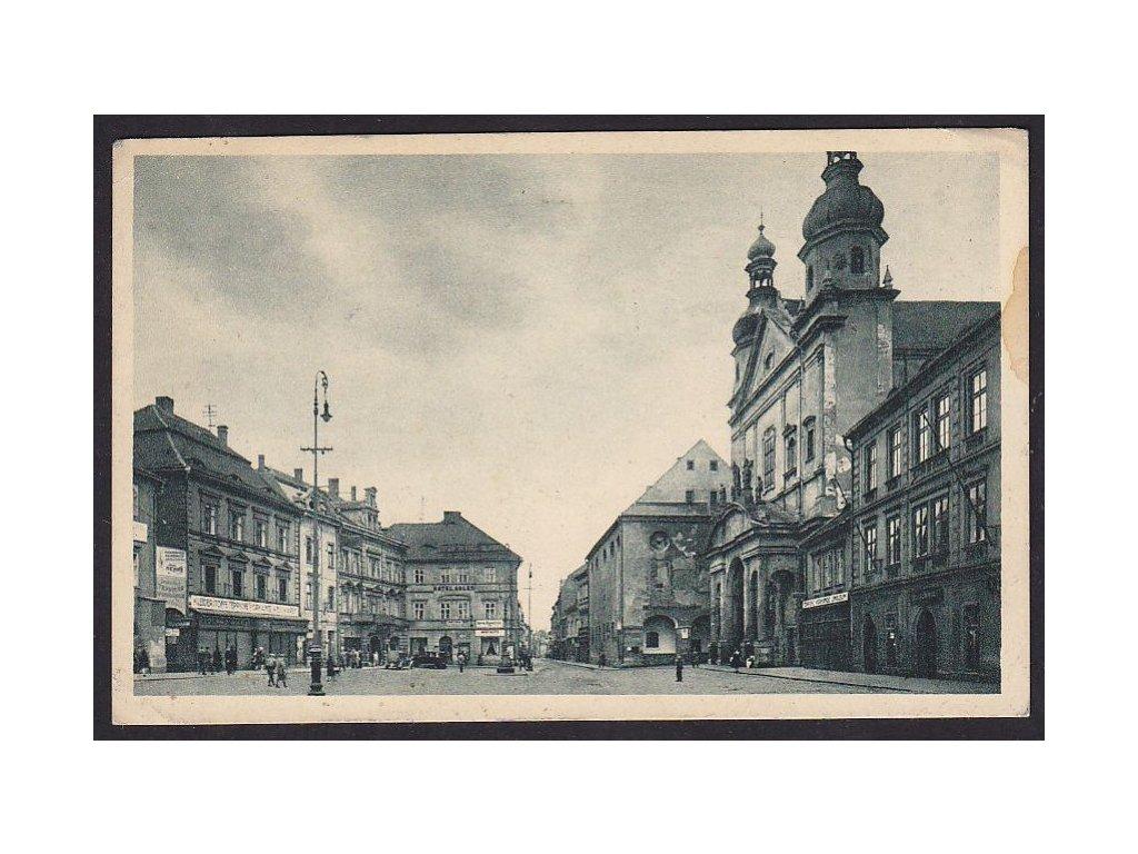 09- Chomutov ( Komotau), Marktplatz, ca 1930