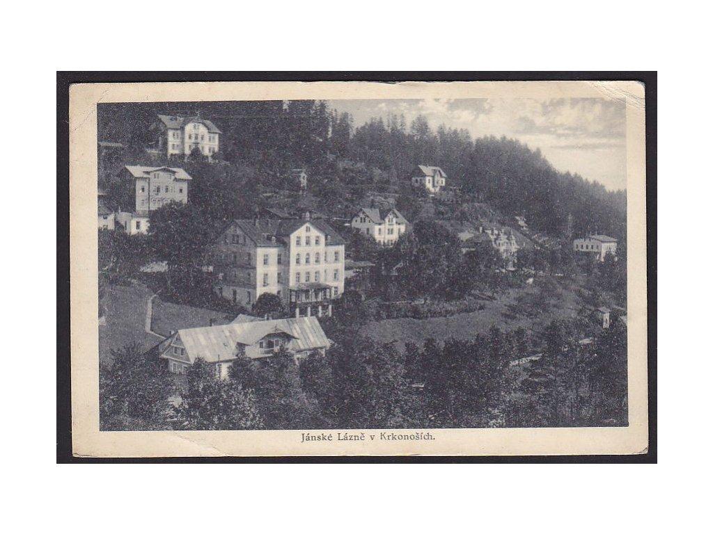 66- Krkonoše, Jánské Lázně, ca 1925