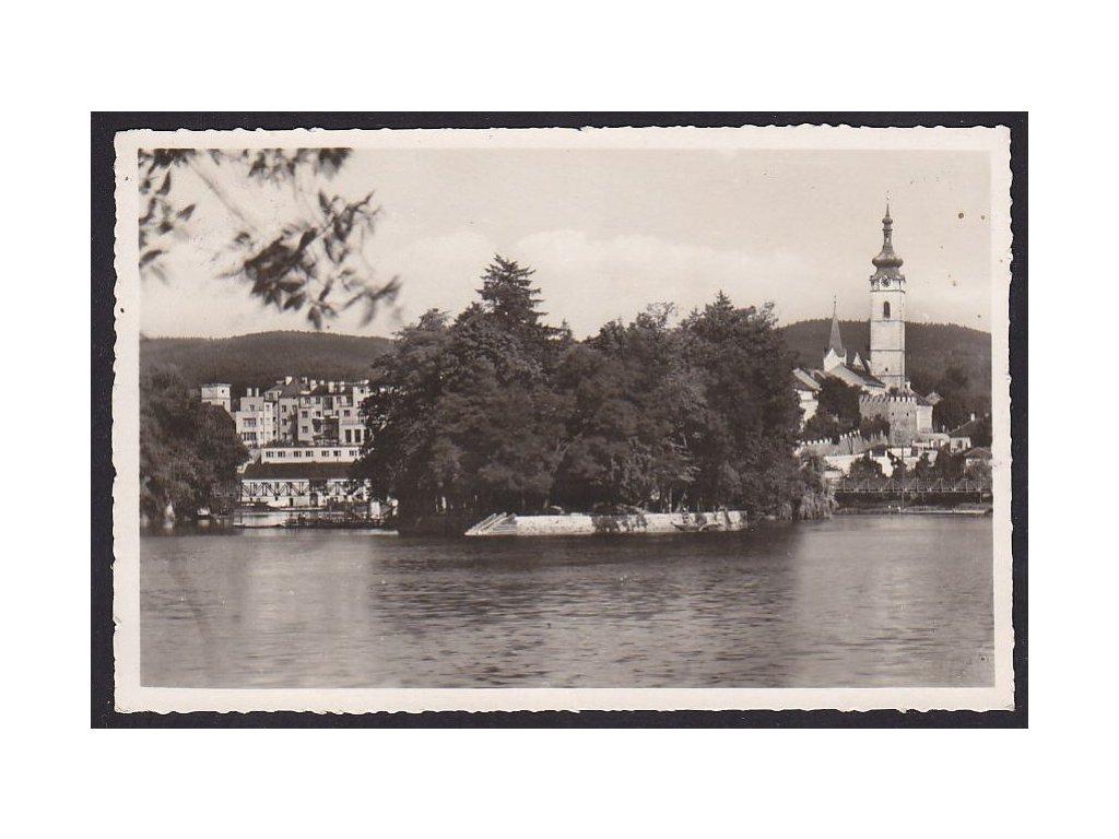 46- Písek, Městský ostrov, ca 1943