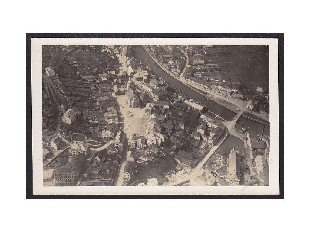 66 - Trutnovsko, pohledy s letadla, cca 1928