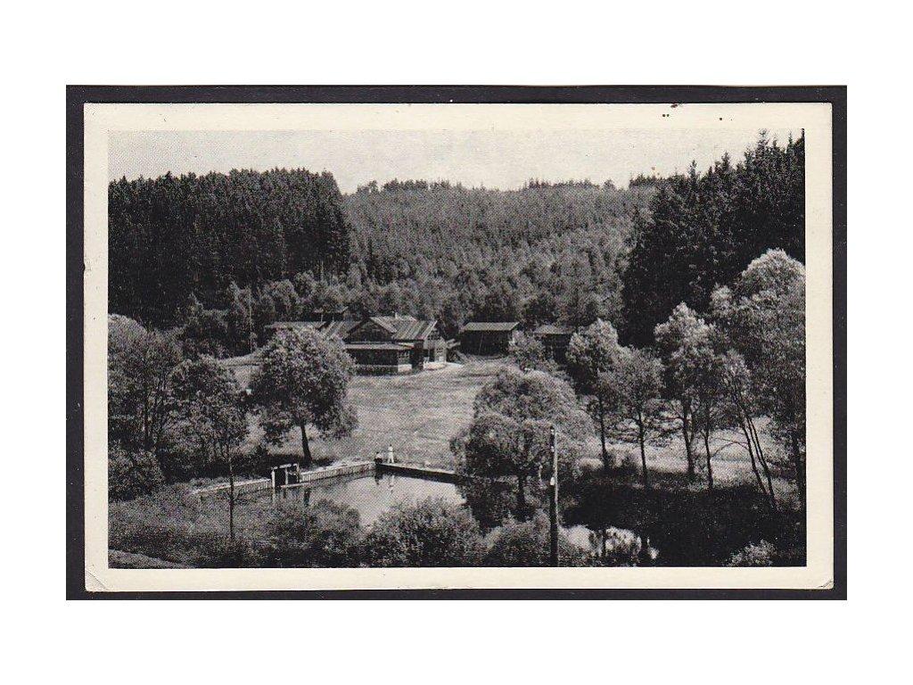 45- Pelhřimovsko, Pacov, Ozdravovna pražského Stud. Zdrav. ústavu, Fototypia, ca 1940
