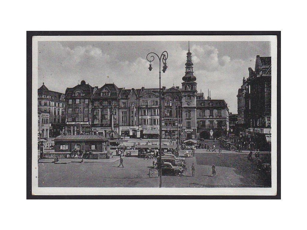 43- Ostrava- Moravská Ostrava, Hlavní náměstí, ca 1940