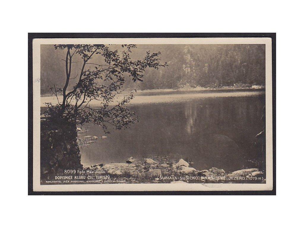 28- Klatovsko, Šumava, Prášilské jezero, Foto Fon,ca 1930