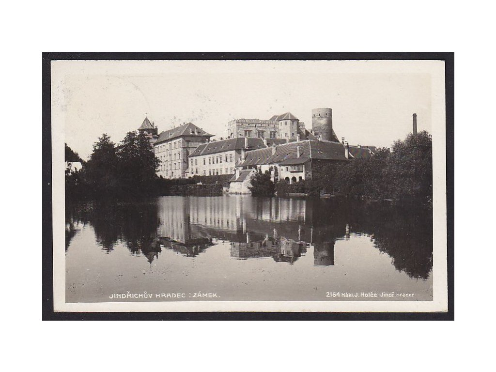 24- Jindřichův Hradec, zámek, Foto Fon, ca 1928