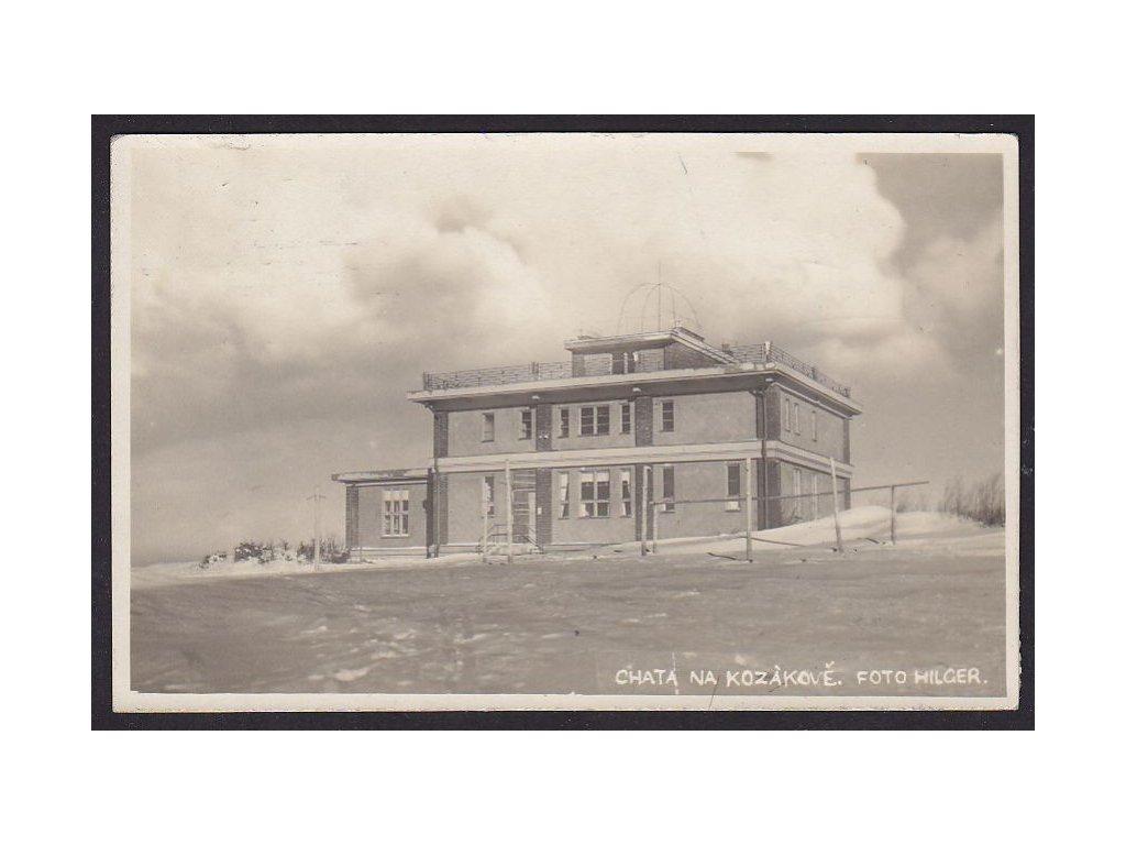 58- Semilsko, Chata na Kozákově, foto Hilger, ca1930
