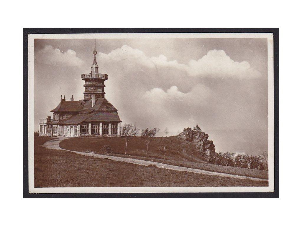38- Náchodsko, Jiráskova chata, Dobrošov, ca 1930