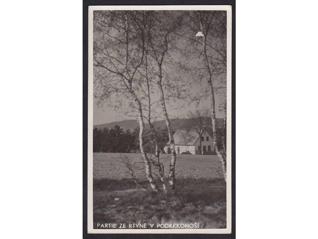66- Krkonoše, Rtyně v Podkrkonoší, ca 1940