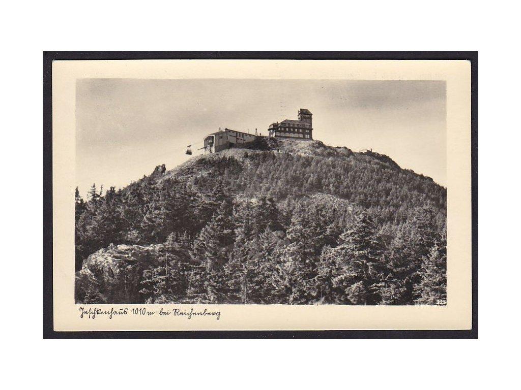 32- Liberecko, lanovka na Ještěd, ca 1935