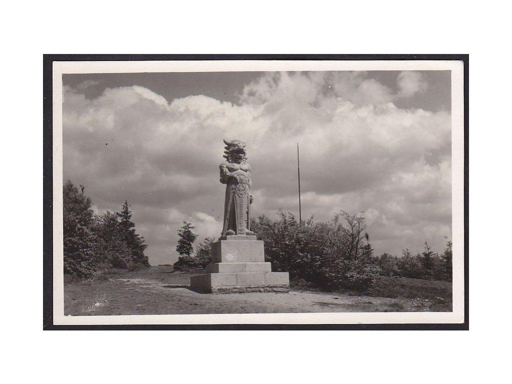 71- Beskydy, Radhošť, Grafo Čuda, ca 1940