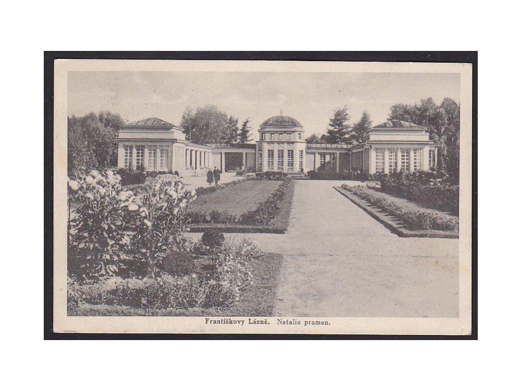 08- Chebsko, Františkovy Natalie pramen, ca 1933