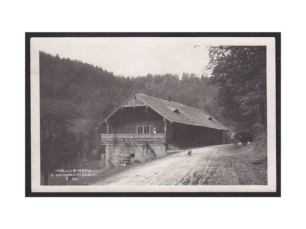 57- Rychnovsko, Antonínovo údolí, Orlické hory, ca 1920