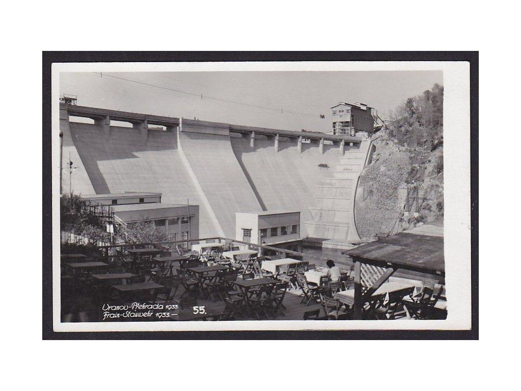 74- Vranov nad Dyjí (Frain an der Thaya), pod přehradou, ca 1933