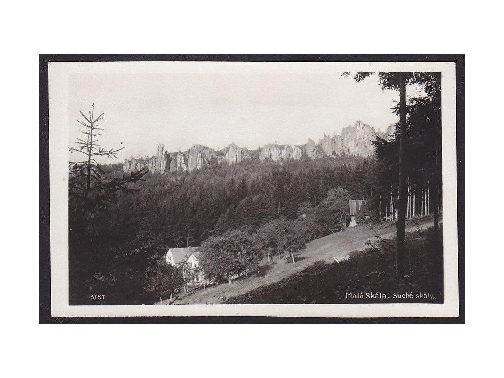 58- Semilsko, Český ráj - Malá Skála, Suché skála, Foto Fon, ca 1930