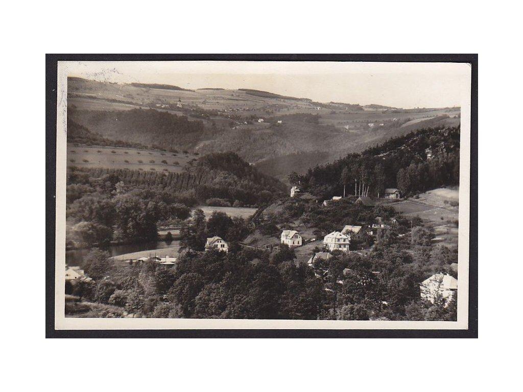 20- Český ráj, Malá Skála, Foto K.Hendrych, cca 1930
