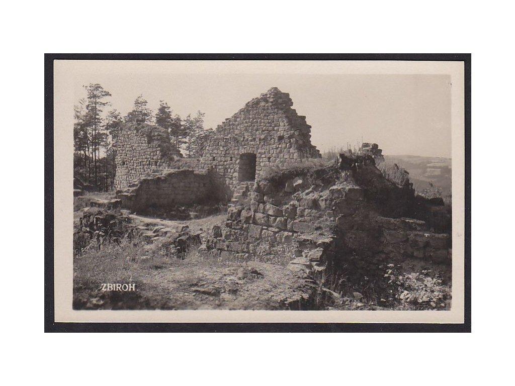 58- Semilsko, Zbirohy , vyd. K. Hendrych, ca 1935