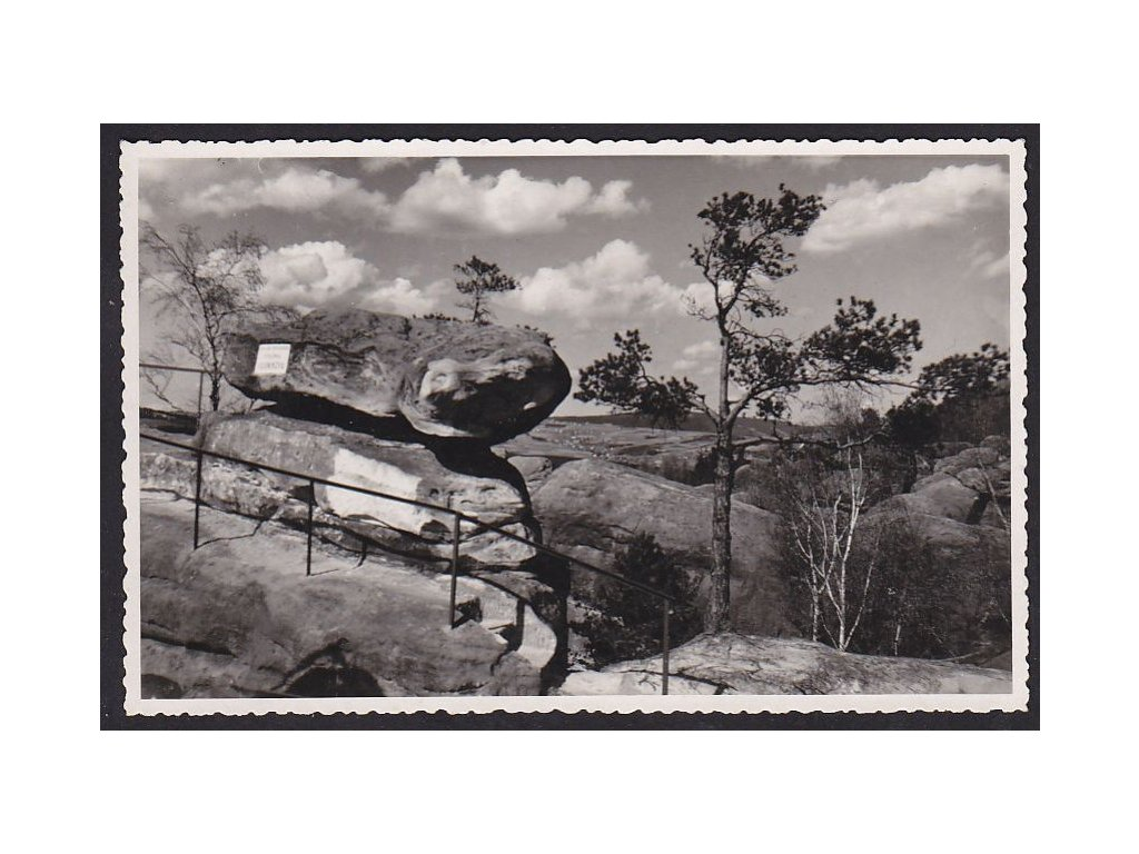 20- Český Ráj, Husníkova stezka, ca 1930