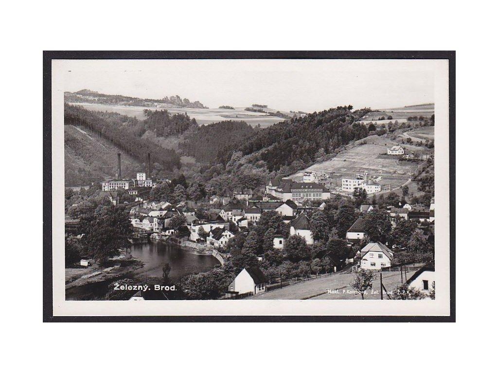 20- Jablonecko, Železný Brod, Foto Fon, ca 1930