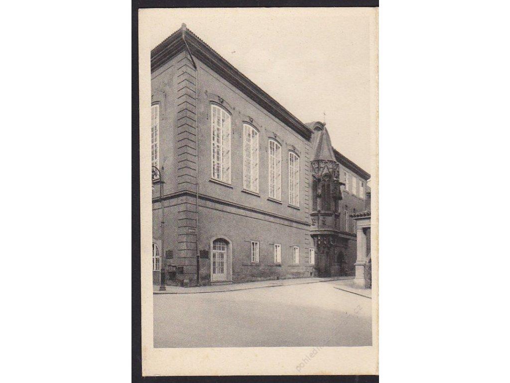 49- Praha, pohlednicový sešitek Poštovního muzea, ca 1925