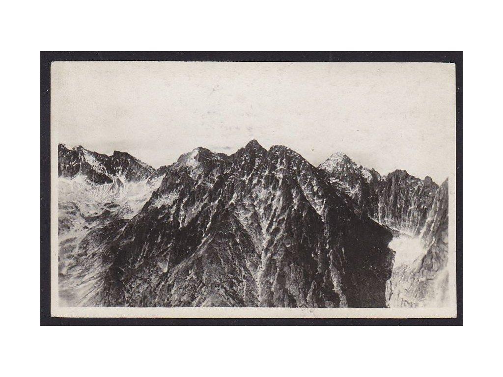 Slovensko, Vysoké Tatry, Lomnický štít, ca 1930