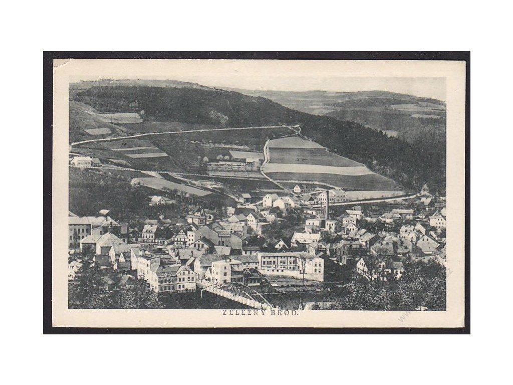 20 - Jablonecko, Železný Brod, cca 1924