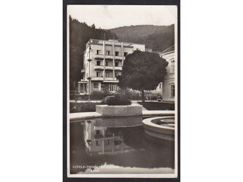 Slovensko, Trenčianské Teplice, Luxor,ca 1936