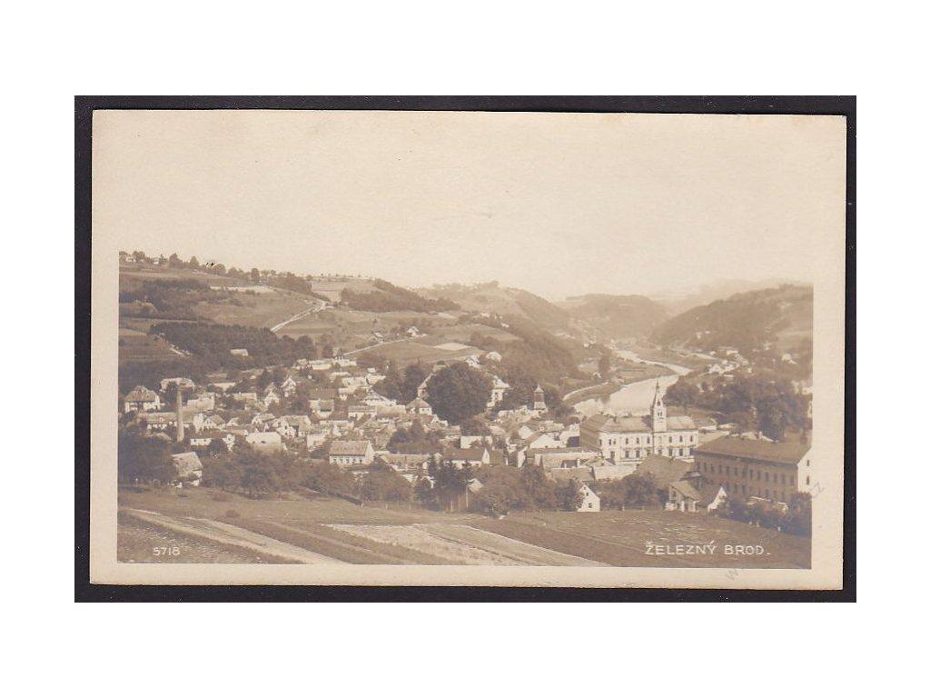 20 - Jablonecko, Železný Brod, foto Fon, cca 1922
