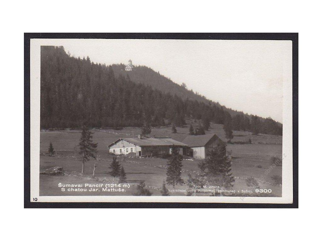 28- Šumava, Pancíř, Foto Fon, ca 1930