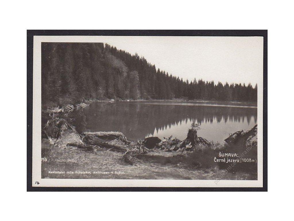 28- Šumava, Černé jezero, Foto Fon, ca 1930