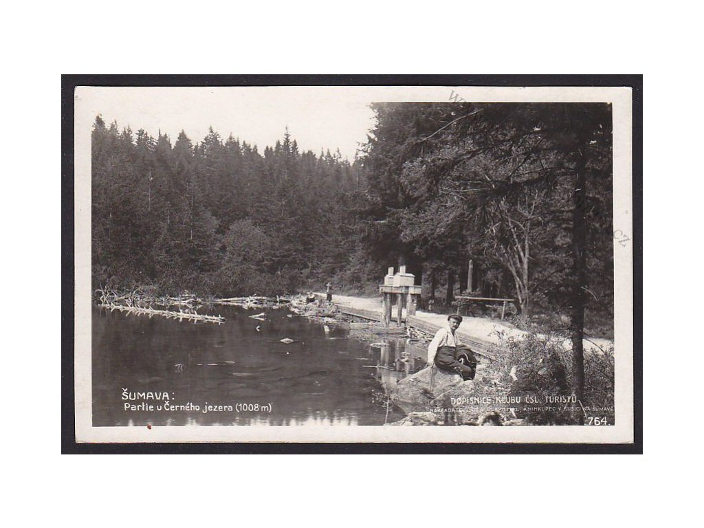 28- Šumava, Černé jezero, Foto Fon, ca 1925